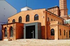 Witte Fabriek, Centraal Museum van Textiel, Lodz, Po Royalty-vrije Stock Foto