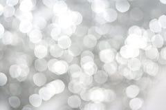 Witte fonkelingen abstracte achtergrond Stock Foto