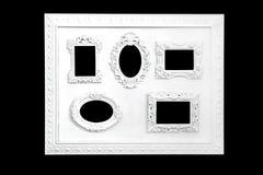 Witte frames Stock Afbeelding
