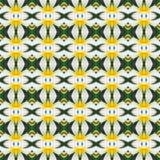 Witte Frangipani bloeit naadloos royalty-vrije illustratie