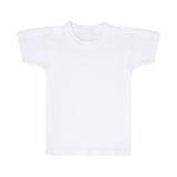 Witte Geïsoleerde t-shirt Stock Foto