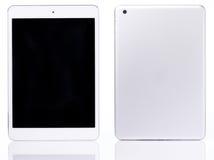 Witte geïsoleerde Tablet stock fotografie
