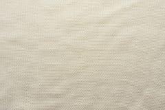 Witte gehaakte verfrommelde stoffentextuur, Het Concept van het ontwerp stock afbeelding