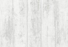 Witte geschilderde houten abstracte achtergrond, textuur van hout met oud natuurlijk patroon stock fotografie