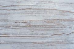 Witte geschilderde houten raad Stock Fotografie