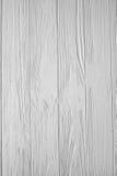 Witte geschilderde houten textuur, achtergrond en behang Stock Foto's