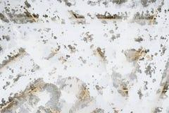 Witte gestreepte geschilderde achtergrond Royalty-vrije Stock Fotografie