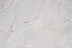 Witte gewassen muren Royalty-vrije Stock Afbeeldingen