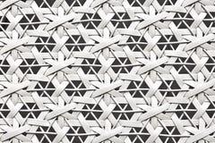 Witte geweven textuurachtergrond Stock Afbeeldingen