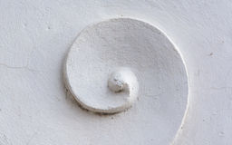 Witte gipspleister Stock Foto