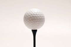 Witte golfbal Royalty-vrije Stock Fotografie