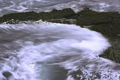 Witte golven Stock Fotografie