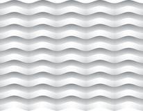 Witte golvenachtergrond Stock Foto's