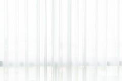 Witte gordijnachtergrond Stock Foto
