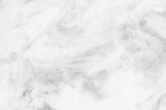 Witte (grijze) marmeren textuur, gedetailleerde die structuur van marmer in natuurlijk voor achtergrond wordt gevormd en ontwerp Royalty-vrije Stock Afbeelding