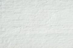 Witte grungebakstenen muur Royalty-vrije Stock Afbeelding