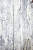 Witte grungy plankenachtergrond royalty-vrije stock foto's