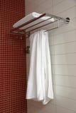 Witte handdoek Stock Fotografie