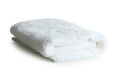 Witte handdoek stock afbeelding