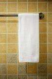 Witte handdoek Royalty-vrije Stock Foto