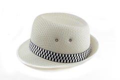 Witte hoed royalty-vrije stock foto's