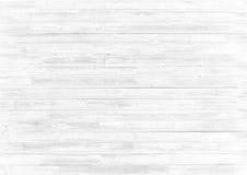 Witte houten abstracte achtergrond of textuur Stock Fotografie
