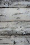 Witte Houten Achtergrond Stock Afbeelding