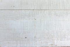 Witte houten achtergrond met geknettereffect Exemplaarruimte Royalty-vrije Stock Afbeelding