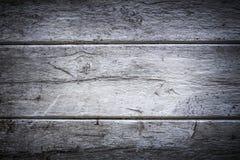 Witte houten achtergrond met grens Royalty-vrije Stock Afbeeldingen