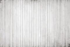 Witte houten muur, lijst, vloeroppervlakte Lichte vector houten textuur stock illustratie