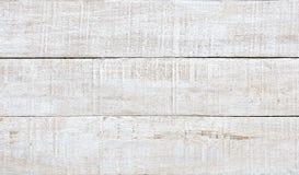 Witte houten plank als textuur en achtergrond Royalty-vrije Stock Afbeeldingen