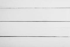 Witte houten raad met textuur voor achtergrond Horizontaal kader royalty-vrije stock foto's