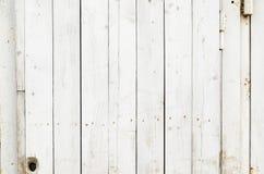 Witte houten textuurachtergrond Royalty-vrije Stock Fotografie