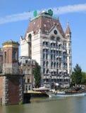 Witte Huis (Vita Huset), Rotterdam Arkivbild