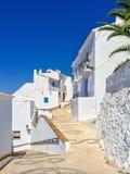 Witte huizen en blauwe hemel van Andalusia Royalty-vrije Stock Fotografie