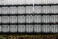 Witte IBC-Container Royalty-vrije Stock Afbeeldingen