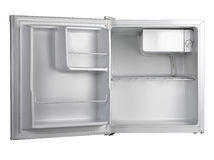 Witte ijskast Stock Foto