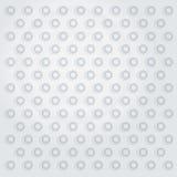 Witte ingedeukte oppervlakte Royalty-vrije Stock Foto's