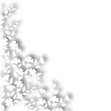 Witte installatiegrens Stock Afbeelding
