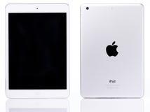 Witte ipad minitablet stock foto