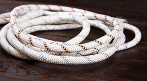 Witte kabel Stock Foto