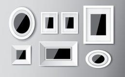 Witte kaders Stock Afbeelding