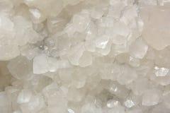 Witte Kalkspaatmijn Stock Afbeeldingen