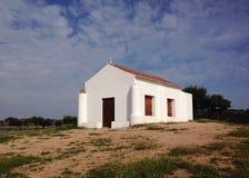 Witte kapel Royalty-vrije Stock Fotografie