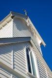 Witte kapel Stock Foto