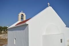 Witte kapel Stock Afbeeldingen