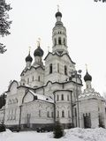 Witte kathedraal Royalty-vrije Stock Fotografie