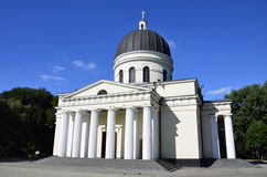 Witte kathedraal royalty-vrije stock afbeelding