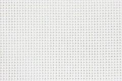 Witte katoenen textuur voor de achtergrond, canvas Royalty-vrije Stock Afbeelding