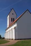 Witte kerk 02 Royalty-vrije Stock Fotografie